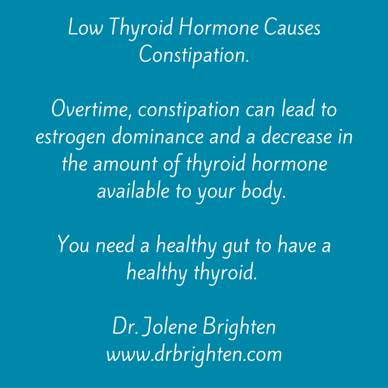 autoimmune thyroid disease and constipation
