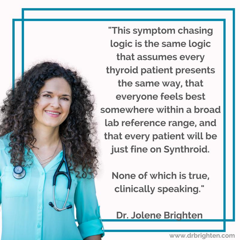 hashimoto's hypothyroidism doctor Dr. Jolene Brighten