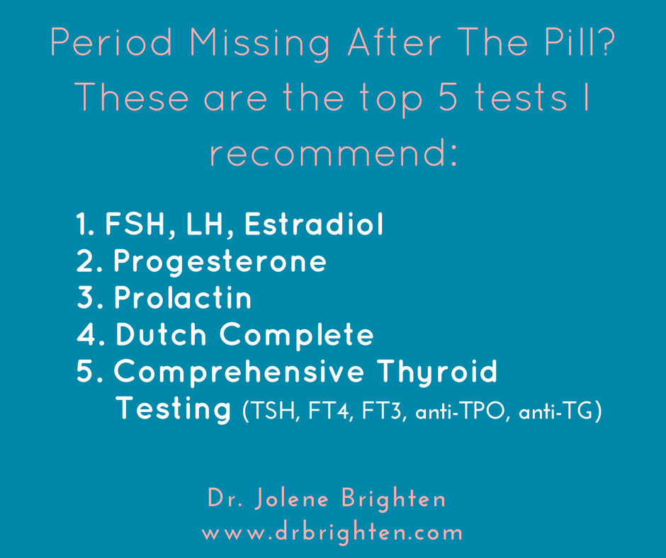 Period Missing Using Pill | DrBrighten.com