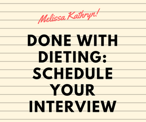 Done with Dieting | Melissa Kathryn | Dr. Jolene Brighten
