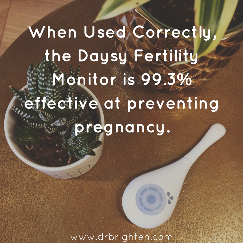 daysy can be 99.3% effective when used correctly