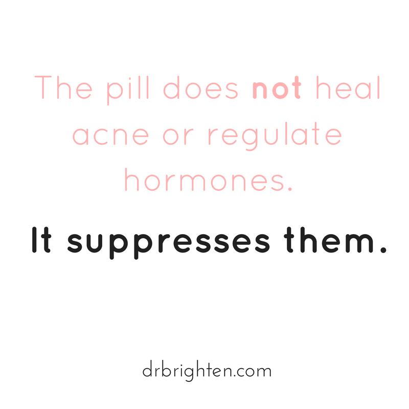 do birth control pills treat acne