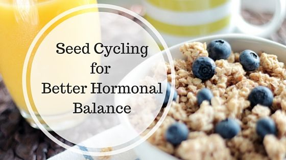 How To Use Seed Cycling To Balance Menopausal Hormones
