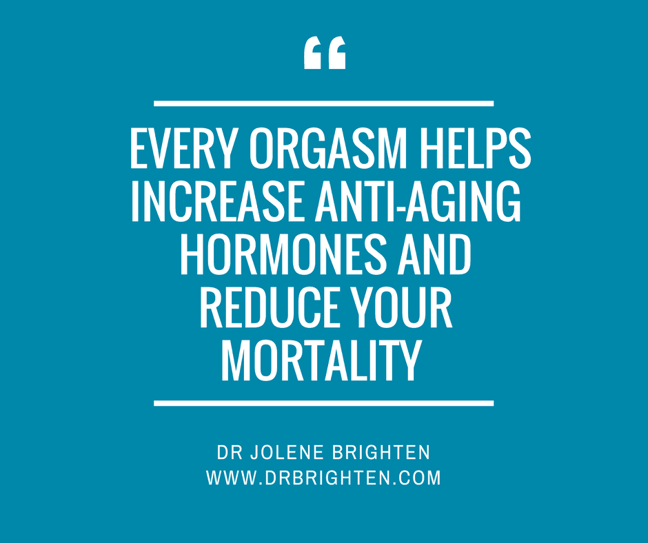 Benefit of female orgasm
