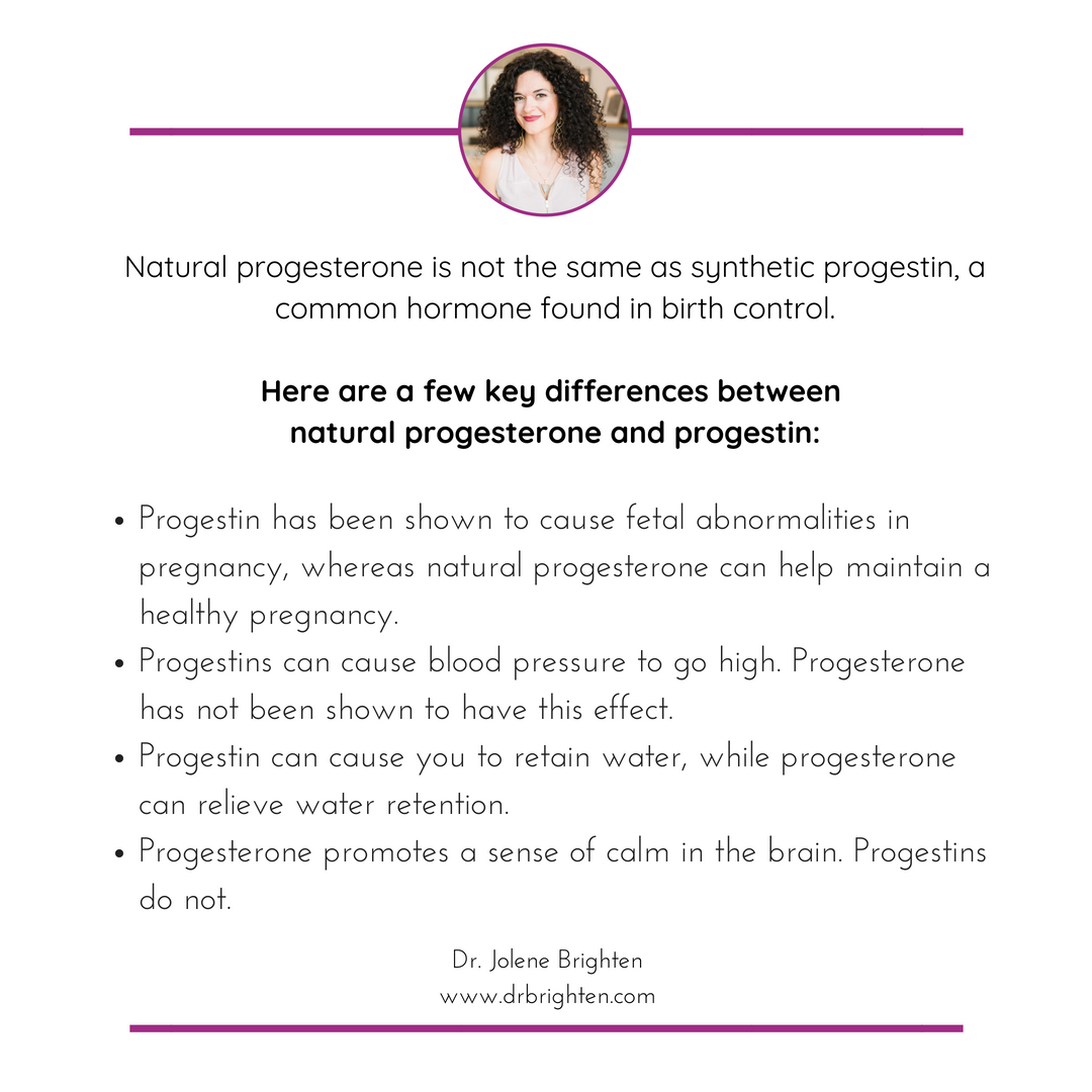 progesterone cream benefits