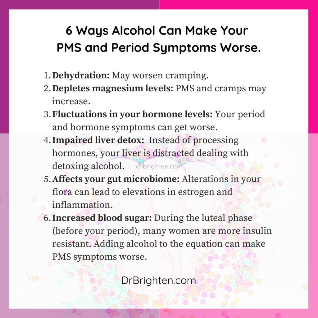 alcohol women's hormones